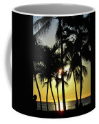Watching The Hawaiian Sunset  Coffee Mug