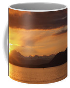 Watching The Sun Rise Over Mt. Baker Coffee Mug