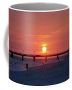 Watching The Sunset Coffee Mug by Sandy Keeton