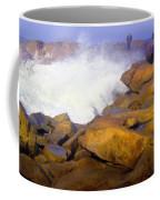 Watching The Surge Coffee Mug