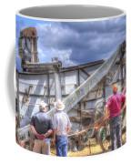Watching The Thresher 3368 Coffee Mug