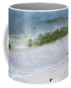 Watching Waves Crest And Break Coffee Mug
