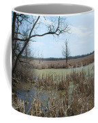 Water And Cattails Coffee Mug