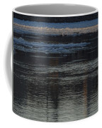 Water And The Ice - Icy River Danube Coffee Mug