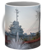 Water And Metal Coffee Mug