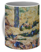 Water And River Delta  Coffee Mug