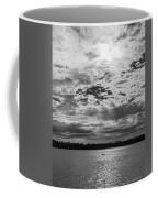 Water And Sky - Bw Coffee Mug