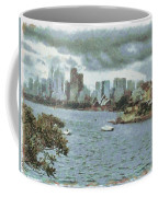Water And Skyline Coffee Mug