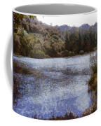 Water Body Surrounded By Greenery Coffee Mug