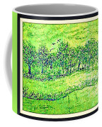 Water Color Of Apple Orchard Farm Coffee Mug