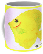 Water Color Of Fish Coffee Mug