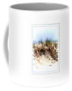 Water Color Sketch  Beach Dune Coffee Mug