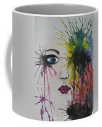 Water Colour - Face Coffee Mug