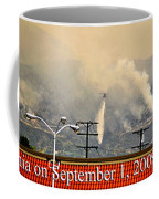 Water Drop On The Station Fire Coffee Mug