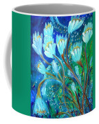 Water Flowers Coffee Mug