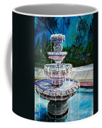 Water Fountain Acrylic Painting Art Print Coffee Mug