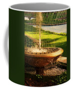 Water Fountain Garden Coffee Mug