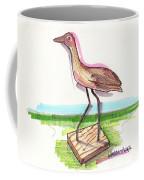 Water Fowl Motif #5 Coffee Mug by Richard Wambach