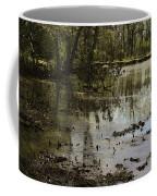 Water Garden Lake View Coffee Mug