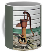 Water Hand Pump Coffee Mug