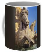 Water Horse Sculpture Coffee Mug