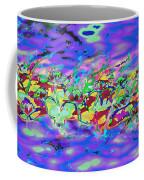 water lilies In twilight Coffee Mug