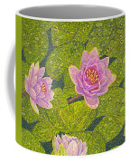 Water Lilies Lily Flowers Lotuses Fine Art Prints Contemporary Modern Art Garden Nature Botanical Coffee Mug