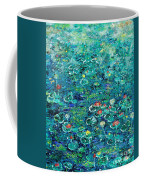 Water Lilies Lily Pad Lotus Water Lily Paintings Coffee Mug