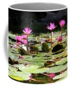 Water Lilies Tam Coc  Coffee Mug
