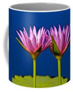 Water Lilies Touching Coffee Mug