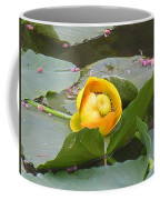 Water Lilly Coffee Mug by Diane Greco-Lesser
