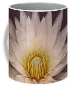 Water Lily Digital Painting Coffee Mug