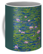 Water Lily Flowers Happy Water Lilies Fine Art Prints Giclee High Quality Impressive Color Lotuses Coffee Mug