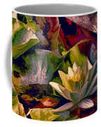 Water Lily In Living Color Coffee Mug