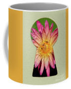 Water Lily Keyhole Coffee Mug