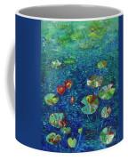 Water Lily Lotus Lily Pads Paintings Coffee Mug
