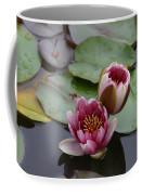 Water Lily With Bee Coffee Mug