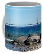 Water Line Sky Line Coffee Mug