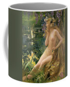 Water Nymph Coffee Mug by Gaston Bussiere