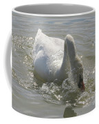 Water Off A Swan's Back Coffee Mug