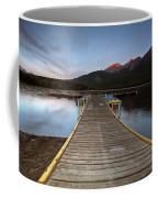 Water Reflections At Pyramid Lake Coffee Mug