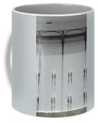 Water Rushing Down The Face Coffee Mug by Kenneth Garrett