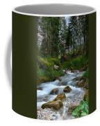 Water Rushing Down Coffee Mug