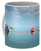 Water Slide Seascape Summer Vacation Scene Coffee Mug