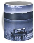 Water Taxi - Lago De Coatepeque - El Salvador Coffee Mug