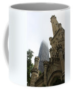 Water Tower And Hancock Coffee Mug
