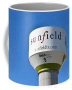 Water Tower - Sunfield Texas  Coffee Mug