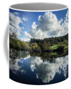 Water Vapour On A Mirror Coffee Mug
