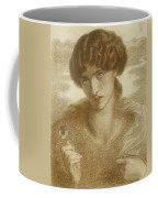 Water Willow - Study Of Female Head And Shoulders Coffee Mug