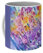 Watercolor - Abstract Flower Garden Coffee Mug